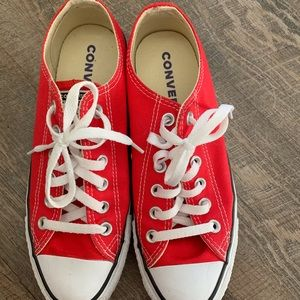 Chuck Taylor All Star red sneakers